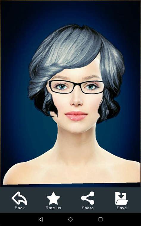 Hairstyle Changer app, virtual makeover women, men for ...