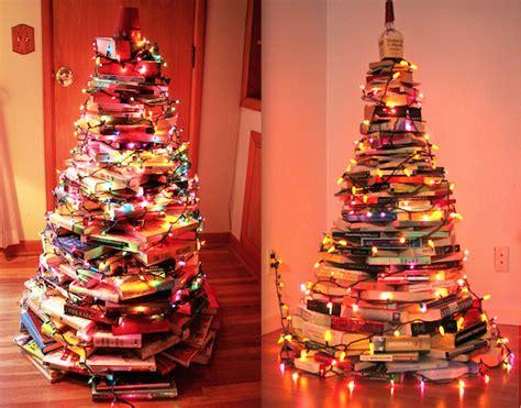 arboles reciclados de navidad 2015 libros manualidades