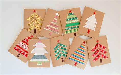 Carte De Vœux Pour Noël- 55 Idées à Fabriquer à La Maison