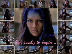 Amy Acker - Illyria - Shells by iBadFred on DeviantArt