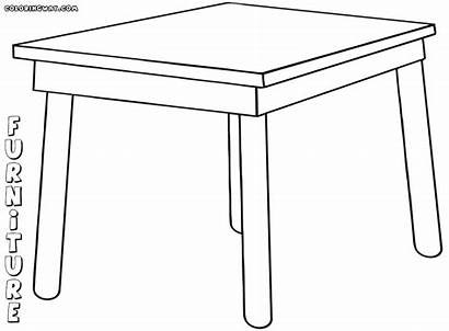 Furniture Coloring Pages Furniture3