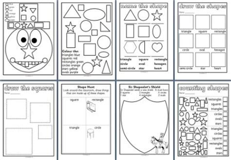 2d and 3d shape homework ks2 year 2 differentiated