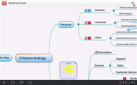 android app ideas mind map your ideas and strategies on your android one