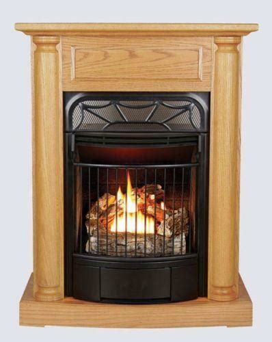 fireplace propane heater ventless propane fireplace ebay