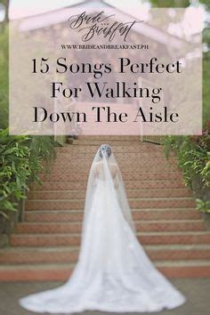 If you want a slight country vibe for your song, then this one would be perfect! Songs Perfect For Walking Down The Aisle: Part 2 | Wedding aisle songs, Wedding processional ...