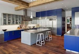 how to paint your kitchen cabinets freshome With best brand of paint for kitchen cabinets with metal art for wall