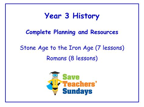 year 3 history planning and resources by