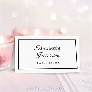 wedding place card template free download printable With templates for place cards for weddings