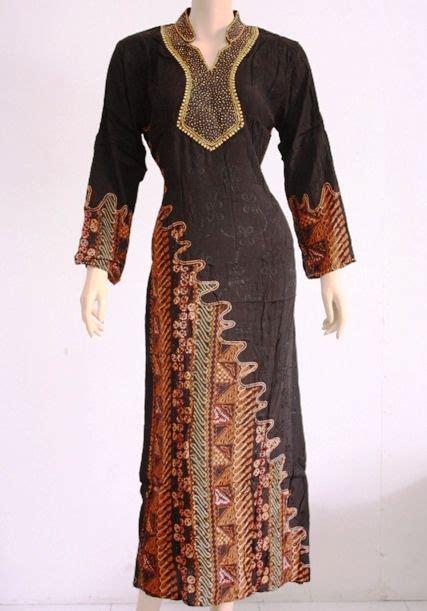 gamis kombinasi batik modern batik dress model dress