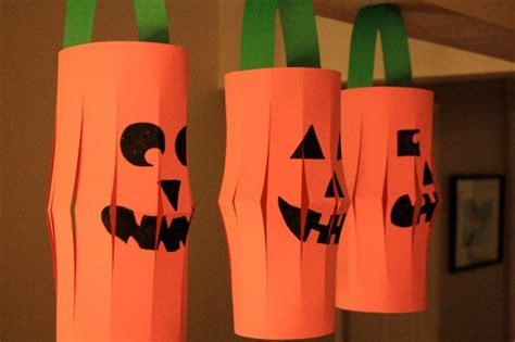 Halloween Craft Project Paper Jackolanterns  Marin Mommies