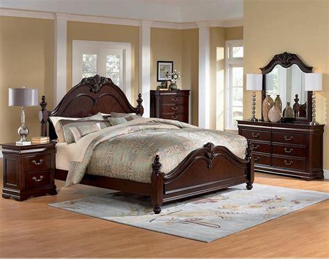 westchester  piece queen bedroom set  brick