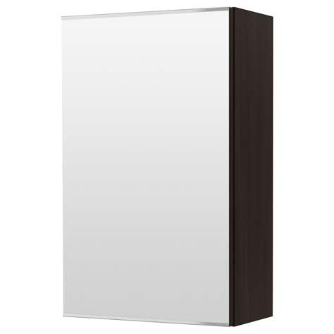 Badezimmer Spiegelschrank Schwarz by Lill 197 Ngen Mirror Cabinet With 1 Door Black Brown Black