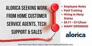 Alorica Seeking Work from Home Customer Service Agents ...