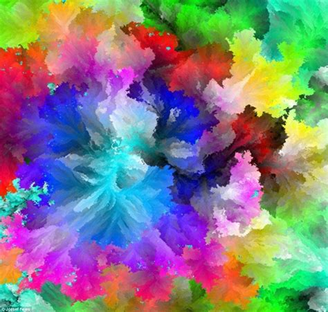 Different Colours by Amazing Software Creates Using 17 Million Colours To