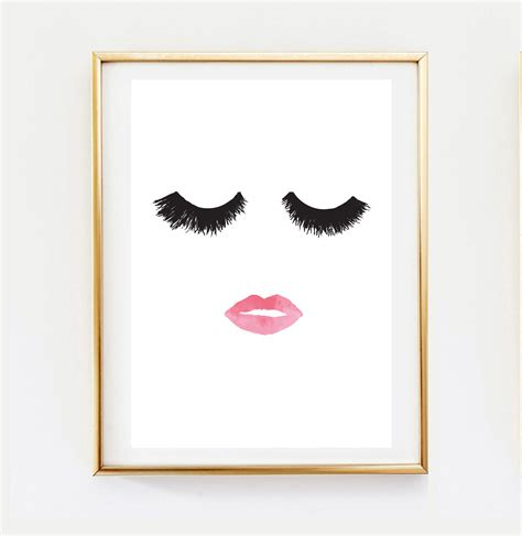 home interior pictures wall decor popular items for home decor wall on etsy makeup print