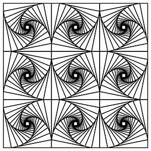 Illusion Coloring Pages | Printable Coloring Pages ...