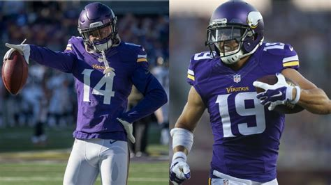 highlight battle stefon diggs  adam thielen youtube