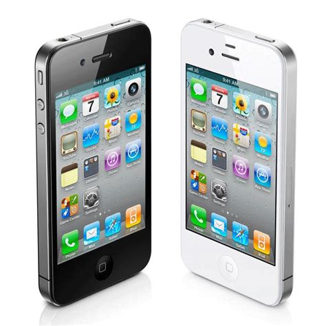 """Apple Iphone 4s 8gb """"factory Unlocked"""" Black And White"""