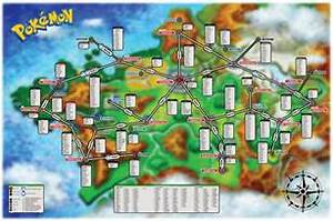 pokemon xy creature map
