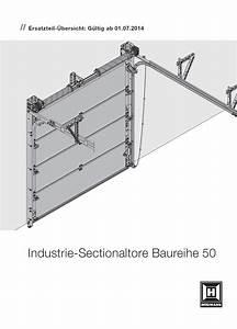 Hörmann Sektionaltor Einbauanleitung Pdf : ersatzteile h rmann industrie sectionaltor baureihe 50 bei tarotore ~ A.2002-acura-tl-radio.info Haus und Dekorationen