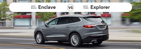 suv showdown   buick enclave    ford