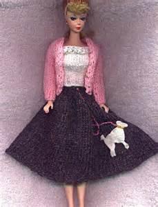 Barbie Poodle Skirt Pattern
