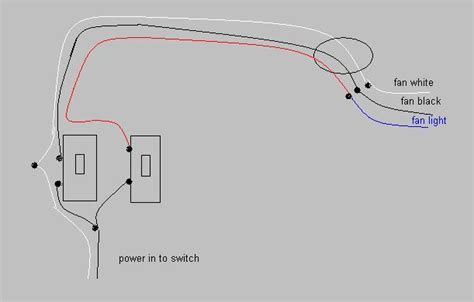 how to wire ceiling fan and light separately how to wire switch for ceiling fan and light