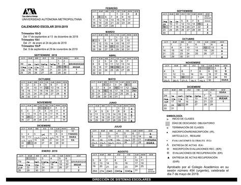 nuevo calendario academico portal de uam iztapalapa