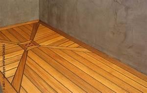 Floor ideas categories bedroom leather tile flooring for Teak tiles bathroom