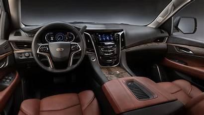 Escalade Cadillac Interior Kona Brown Esv Luxury