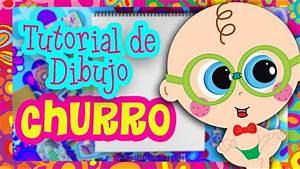 Tutorial de Dibujo Churro YouTube