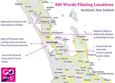 words filming locations revealed explore nz