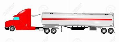 Truck Tanker Clipart Water Trailer Clip Oil