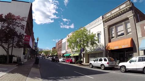 morganton nc small town walk part  youtube