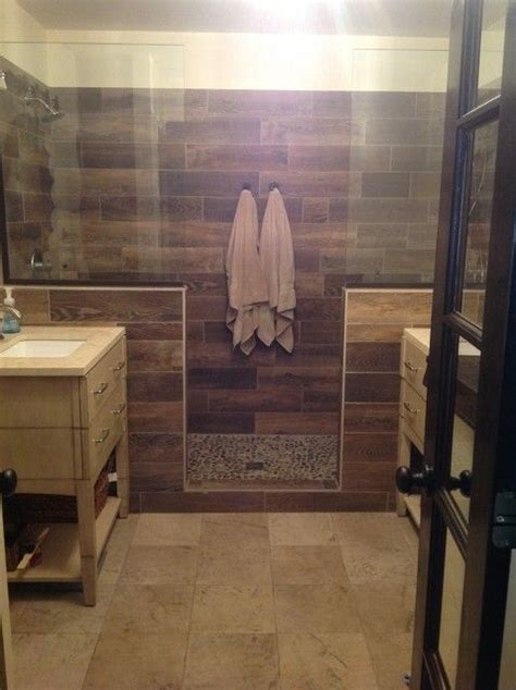 natural wood grain ceramic tile westhaven bathroom