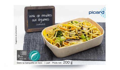 cuisiné courgette wok de nouilles aux légumes surgelés les légumes picard