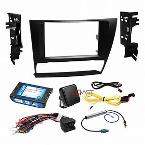 Car Radio Stereo Dash Kit Steering Amplified Harness For