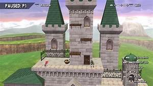 Project M Hyrule Castle Hd Model Import  Super Smash Bros