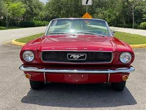 1966 Ford Mustang Convertible Classic Antique Muscle Original Numbers Matching for sale - Ford ...