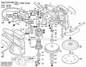 Bosch Pex 15 Ae : bosch random orbit sander pex15ae ~ Jslefanu.com Haus und Dekorationen