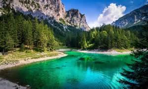 Summer Desktop Backgrounds Mountains Water