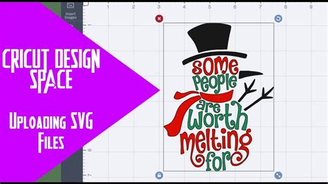 Download free svg cut files for cricut & silhouette cameo machines. Cricut Design Space - Uploading SVG files - YouTube