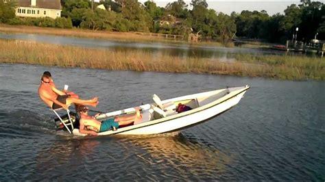 Hillbilly Boat by Water Wheelie Wrong