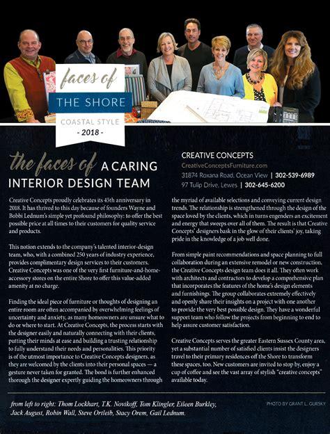 Creative Concepts Delaware Furniture in Newspaper Articles