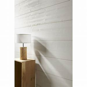 Leroy Merlin 15 Aout : lambris sapin bross blanc x cm mm ~ Dailycaller-alerts.com Idées de Décoration
