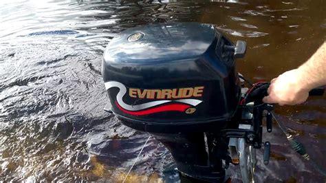 2017-05-19 Evinrude 8 Hp Outboard Motor 4-stroke