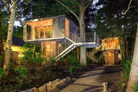 arboreal architecture  houses built   trees urbanist