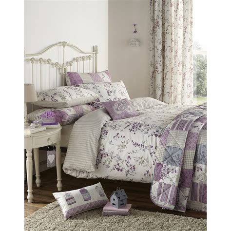 Dreams And Drapes Bedding - dreams n drapes lila lilac vinatge floral bedding