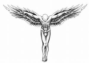 Temporary-tattoos-back-guardian-angel-wings-transfer-spray ...