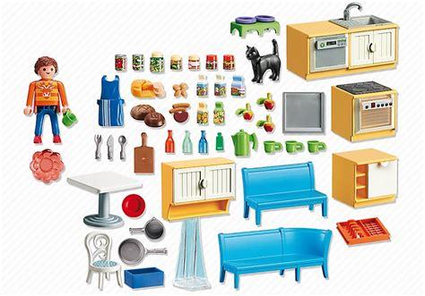 cuisine playmobile playmobil maison 5336 cuisine équipée avec coin repas